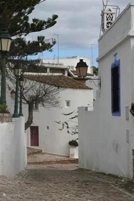 Smalle straatjes in de dorpjes