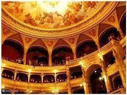 plafon van opera