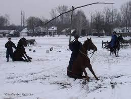 paardenshow in Boedapest