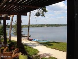 Barragem de Magos op een paar minuten afstand van Salvacasa.
