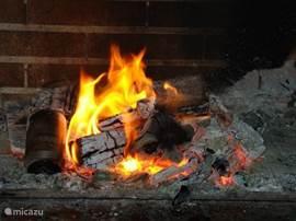 Heerlijke BBQ / Openhaard voor de zomerse en winterse avonden.
