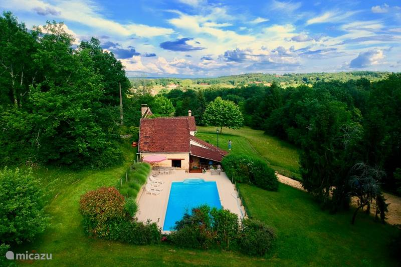 Vakantiehuis Frankrijk, Dordogne, Mauzens-et-Miremont Vakantiehuis Les Granges Blanches