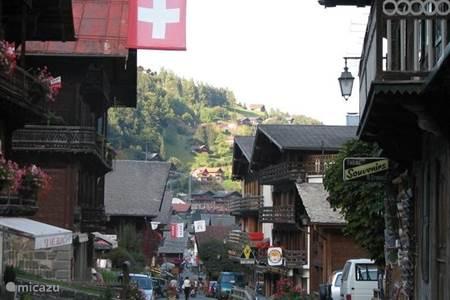Het dorp Champéry