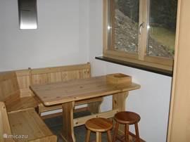 Zwitserse zithoek in de keuken