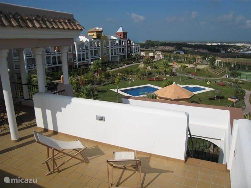 Vakantiehuis Spanje, Costa de la Luz, Sanlucar de Barrameda Appartement Flamencos Golf II