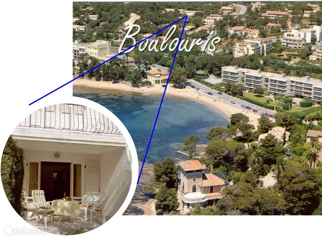 Vacation rental France, French Riviera, Saint-Raphaël apartment le Val des Pins