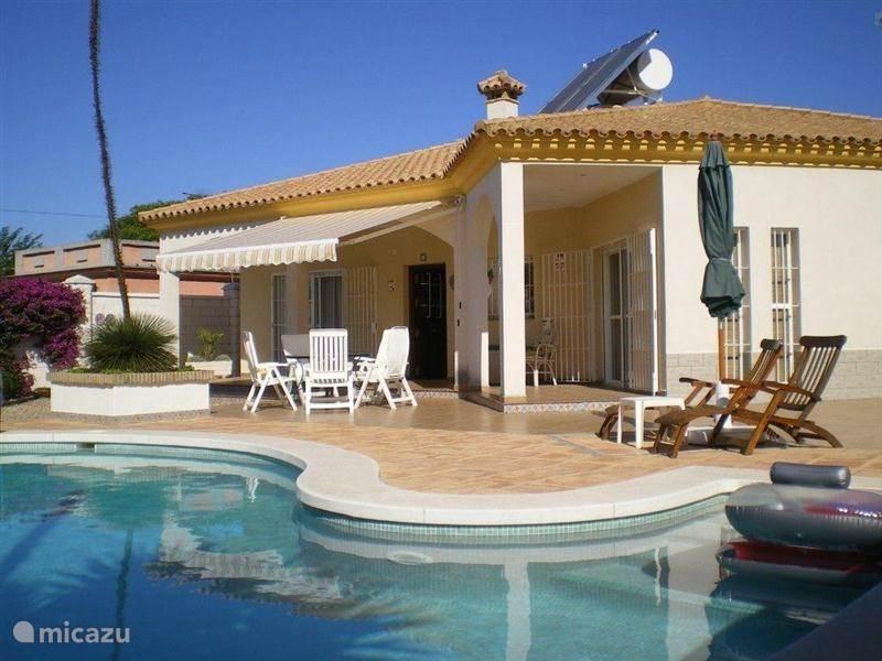 Vakantiehuis Spanje, Costa de la Luz, Sanlucar de Barrameda Chalet Madre I