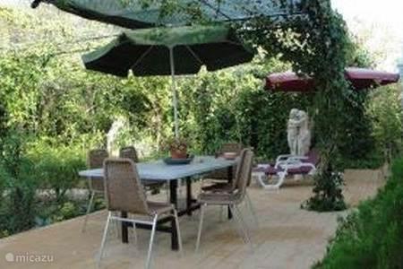 Vakantiehuis in moncarapacho algarve portugal huren - Deco terras zwembad ...