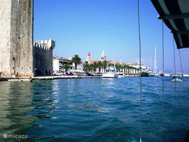 Trogir from a boat