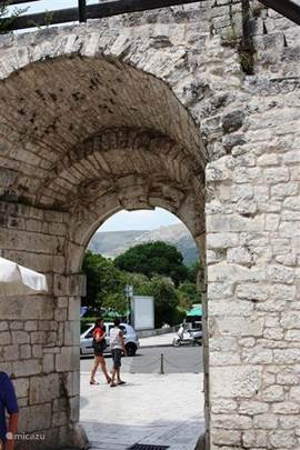 North gate in Trogir