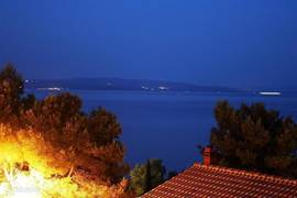 Night Panorama from the house. Check out photo albums app Ciovo A0 and A2