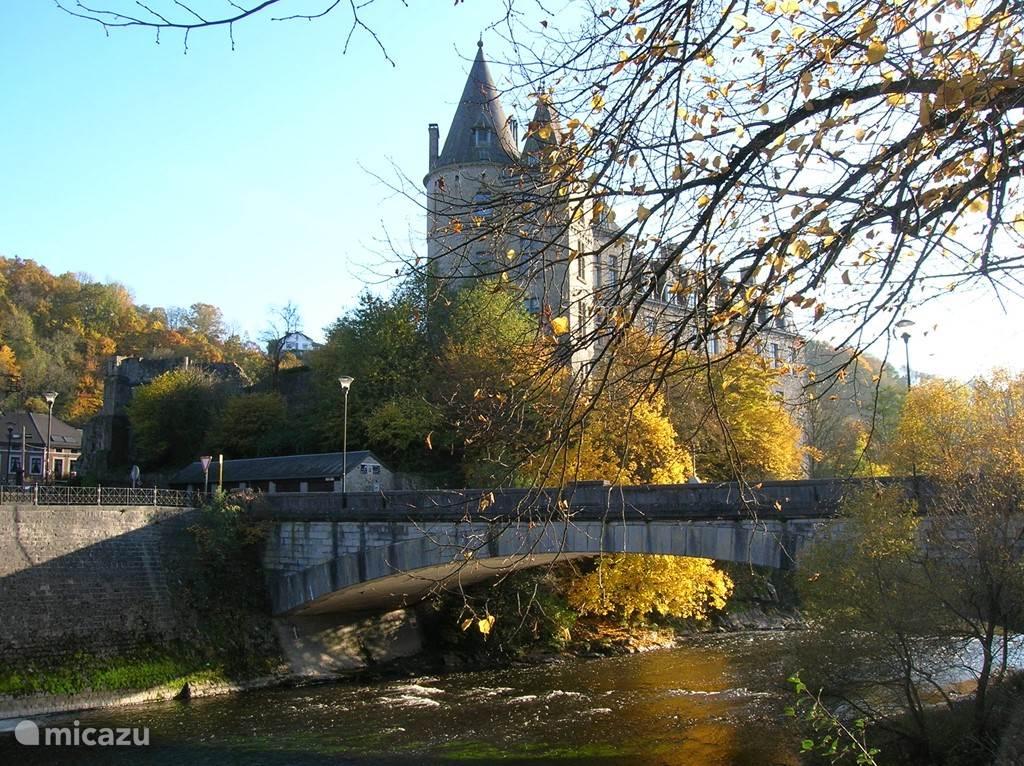 Het kasteel van Durbuy in de herfst!