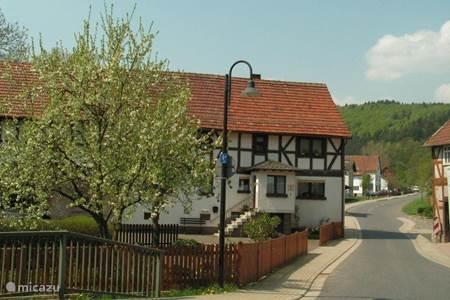 Het dorp Frankenau