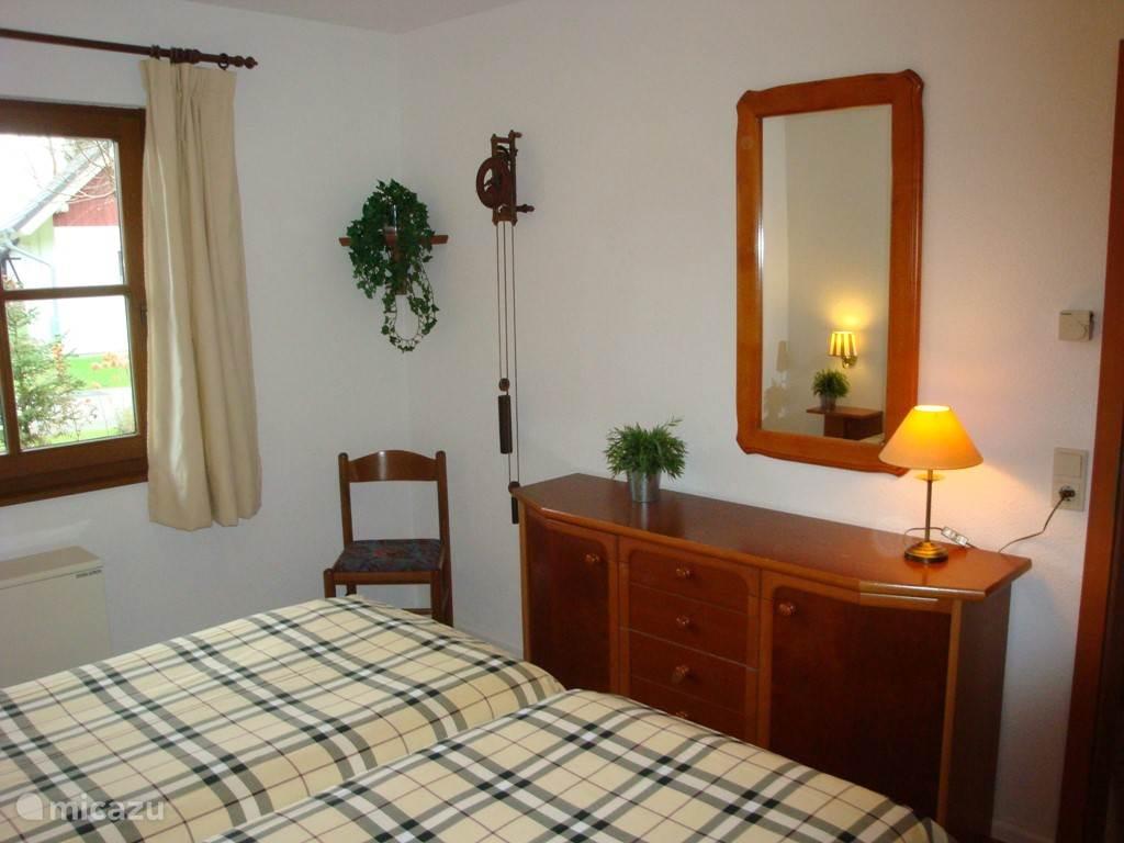 Slaapkamer aan de voorzijde.