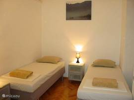 slaapkamer (met badkamer en-suite)