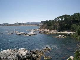 Een van de prachtige baaien bij St. Antoni de Calonge