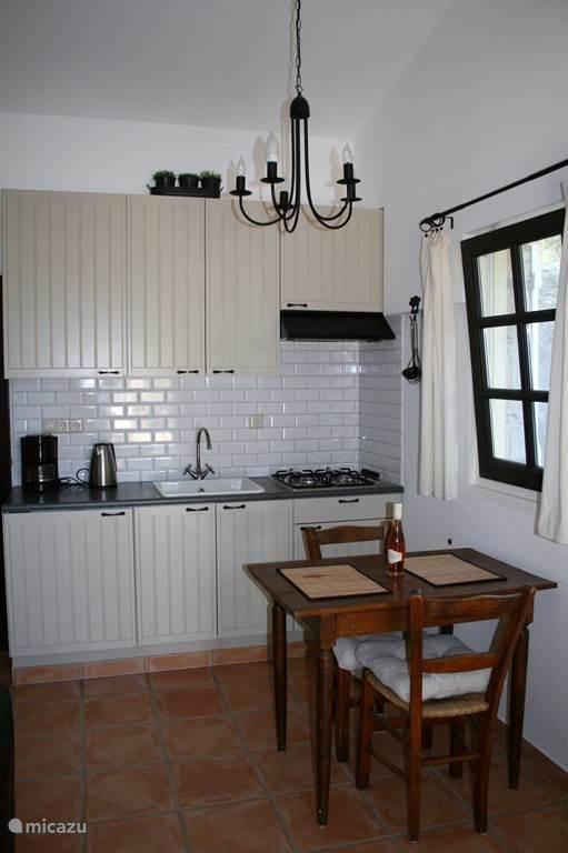 keuken 2 pers appartement