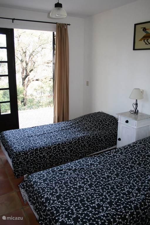 Slaapkamer 4 pers appartement