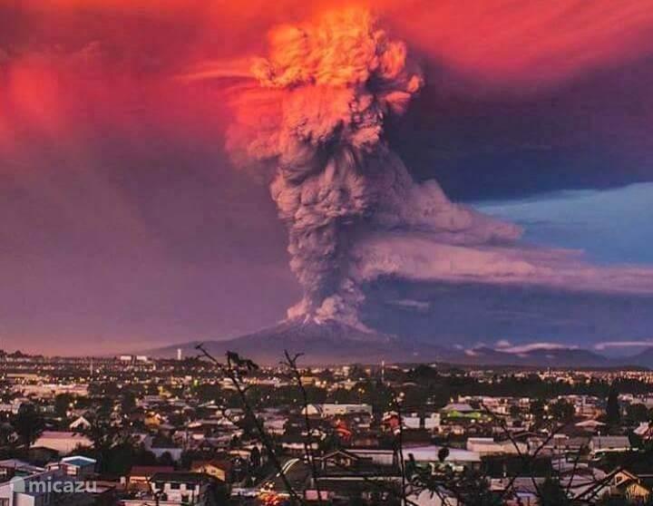 De recente uitbarsting van de Etna, december 2015