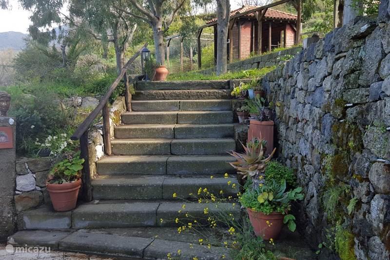 Vakantiehuis Italië, Sicilië, Motta Camastra Vakantiehuis Casa Motta Camastra
