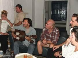 flamenco muziek in zitgedeelte