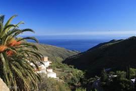 blik op de Middellandse Zee vanuit Sorvilán