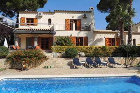 Vakantiehuis Spanje, Costa Brava, Calonge villa Villa Verano
