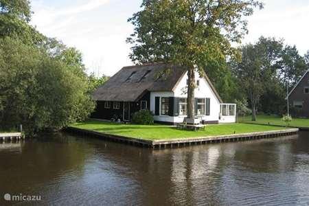 Vakantiehuis Nederland, Overijssel, Ossenzijl – vakantiehuis Vakantiehuis Weerribben