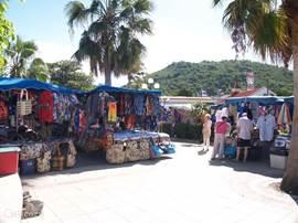 Markt in Marigot.