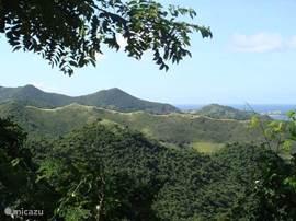 Pic Paradis is het hoogste punt van Sint Maarten