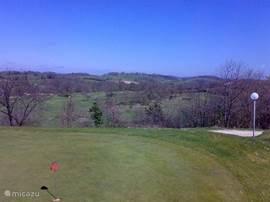 golfbaan Ariege. 40 min. rijden