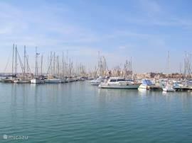 Torrevieja haven (grootste van de Costa Blanca zuid)