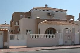 Vooraangezicht van Casa Irene.