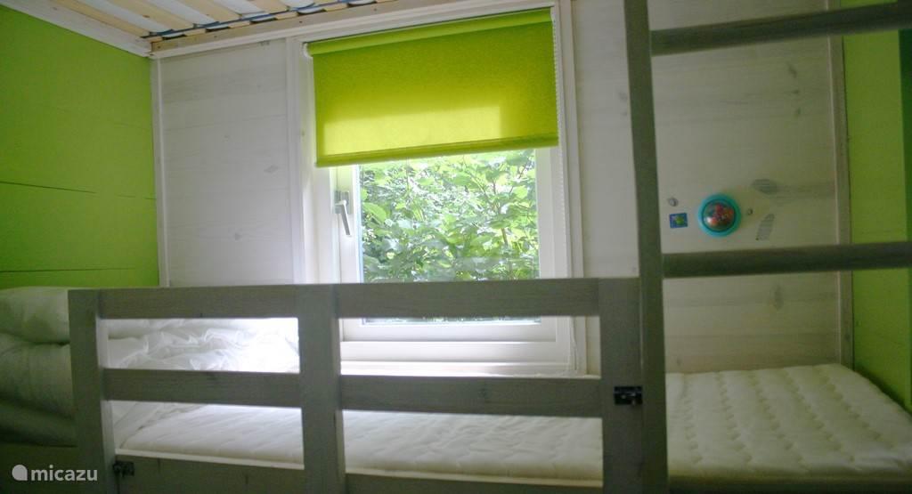 De kamer met het stapelbed