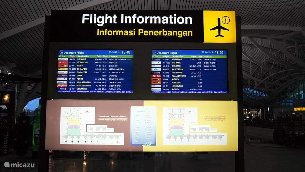 Vervoer van en naar het vliegveld