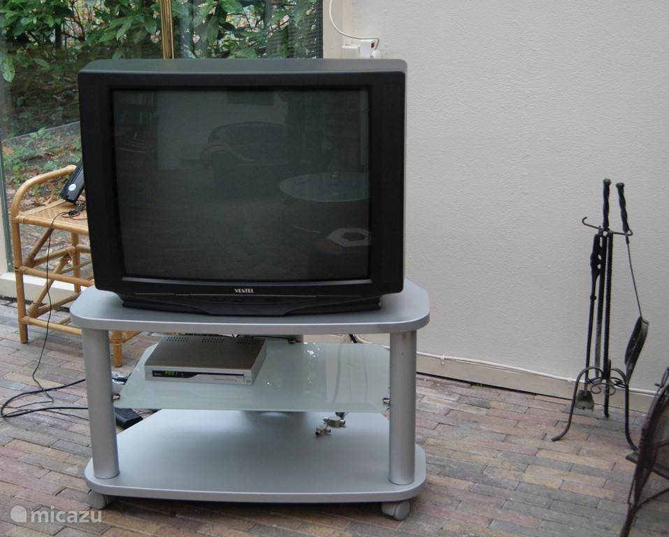 TV in de serre