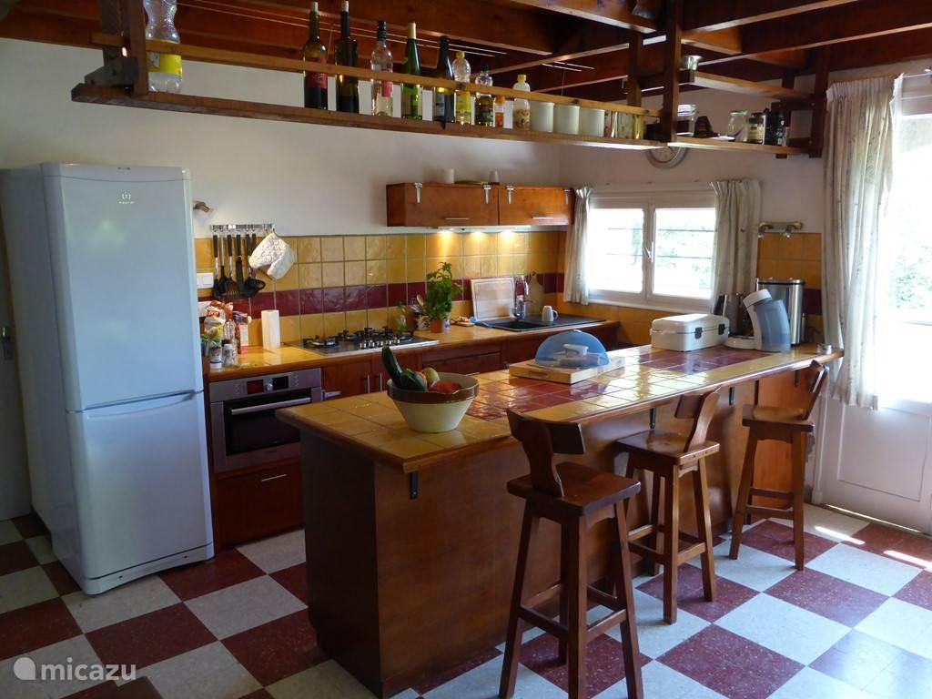 La Grange is voorzien van alle voorzieningen die nodig zijn voor een aangename vakantie.