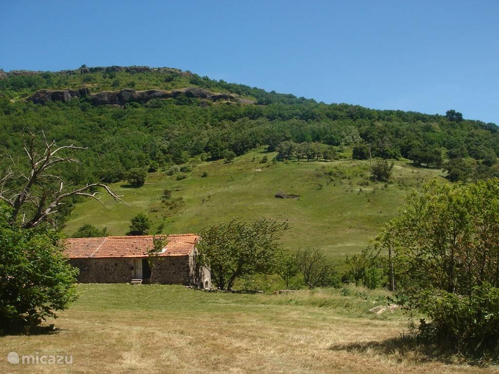 ... in Saint-Jean-le-Centenier in het département Ardèche.