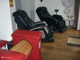 Rolmassage voor bindweefselmassage.