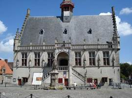 The town hall of Damme