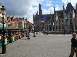 An impression of the 15 minutes lying on Bruges