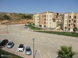 parkeerplaats behorend bij appartement