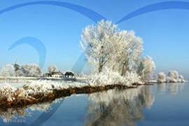 In alle seizoenen kunt u prachtige 'ansichtkaart-landschappen' in de IJsselvallei treffen... Na sneeuwval bieden de uiterwaarden een waar sprookjeslandschap.
