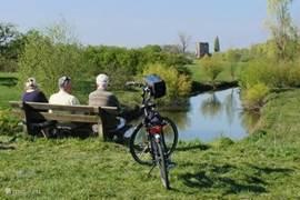 In de mooie omgeving kunt u naar hartelust fietsen, wandelen, een Hanzestad bezoeken of langs de oever picknicken.