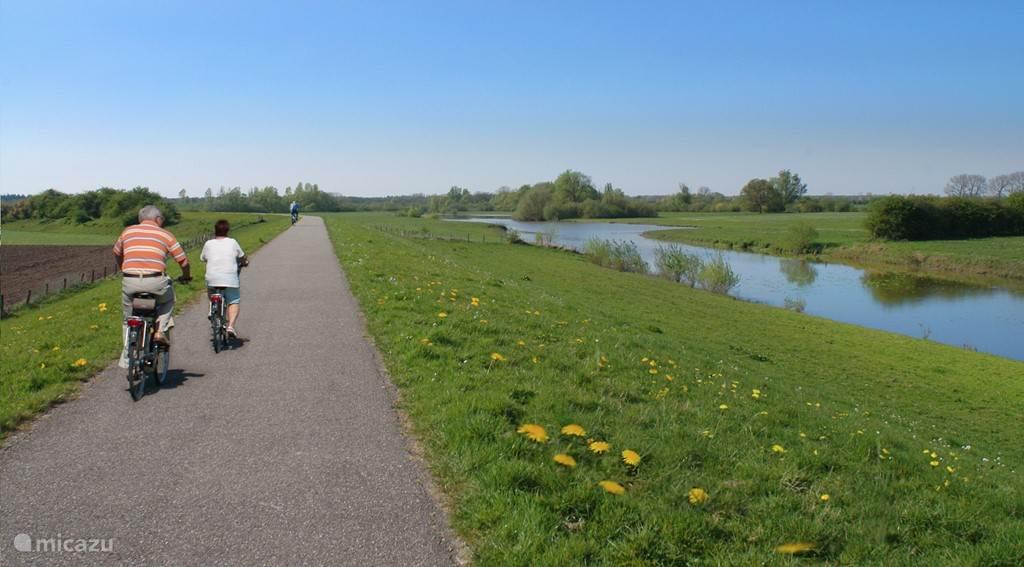 Voorbij het dorpje Veessen wordt de omgeving steeds rustiger. U fietst hier richting Hanzestadje Hattem met het Voerman- en Anton Pieck museum.