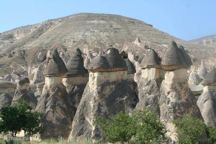 Vergaap u aan de schoonheid van Cappadocië