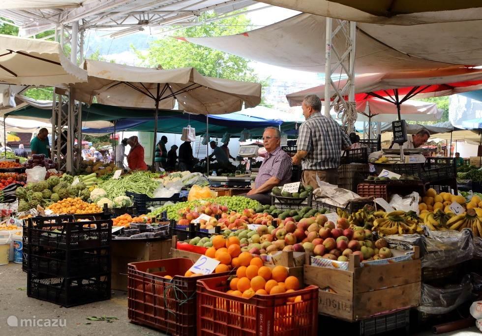 vrijdagsmarkt Alanya