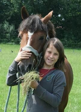 Knuffelen met je paard