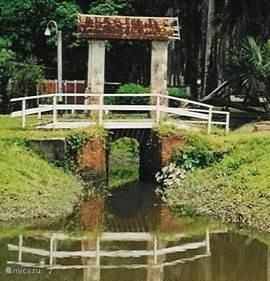 Sluisje in Paramaribo.