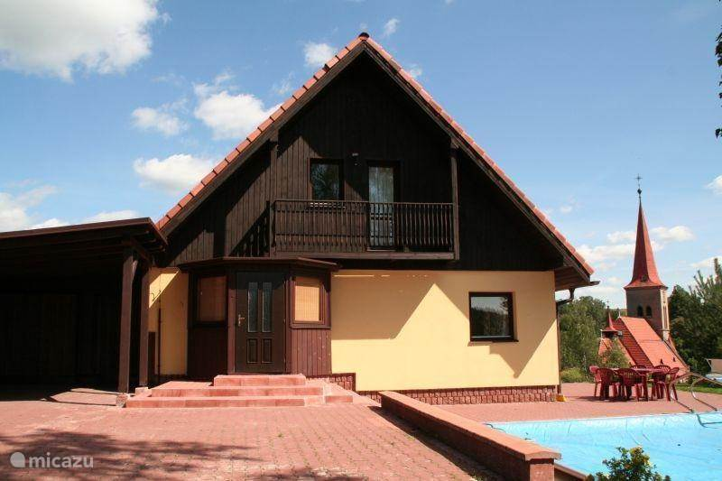 Vacation rental Czech Republic, Giant Mountains, Cermna Villa Hillhouse